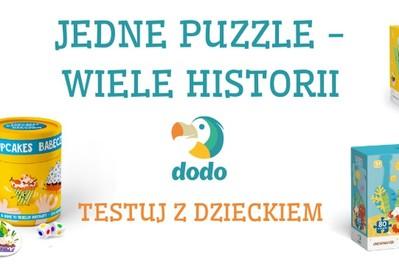 TESTOWANIE Jedne puzzle – wiele historii: mnóstwo zabawy dla najmłodszych