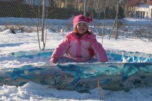 Zimowe zabawy na śniegu i mrozie!