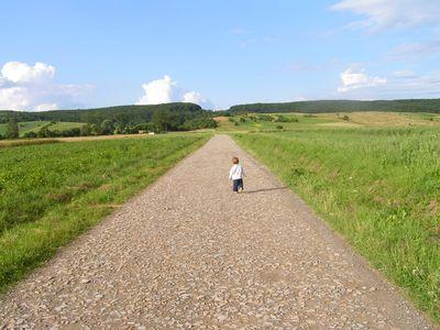 Mały podróżnik :)