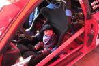 najmłodszy rajdowiec świata :)